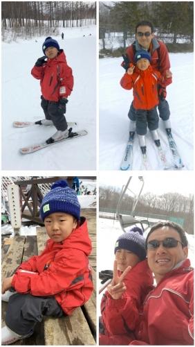 スキー2018年3月