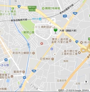 鶴間大塚地図