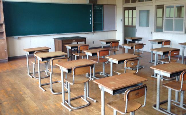 教室風景素材(学校)