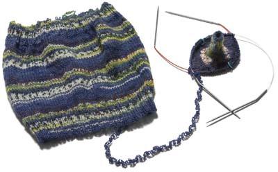 解きながら編む