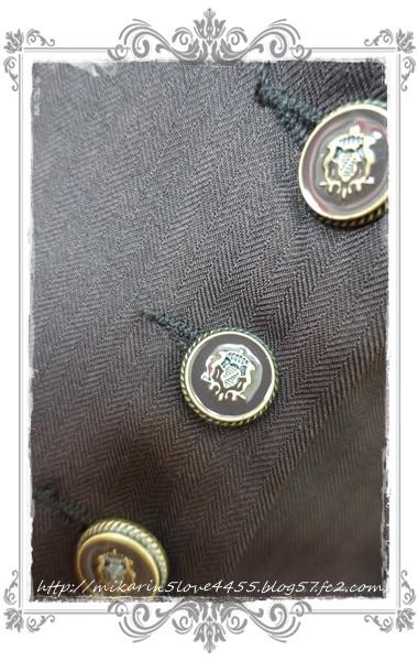 0210フィッシュテールロングベスト(Dブラウン)ボタン