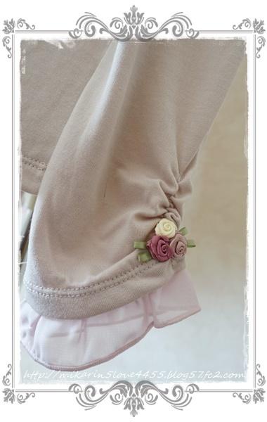 0225ビジューガーデンインナーPO(淡ピンク)袖