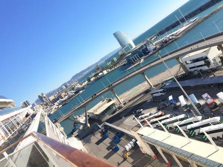 航海日、 バルセローナ