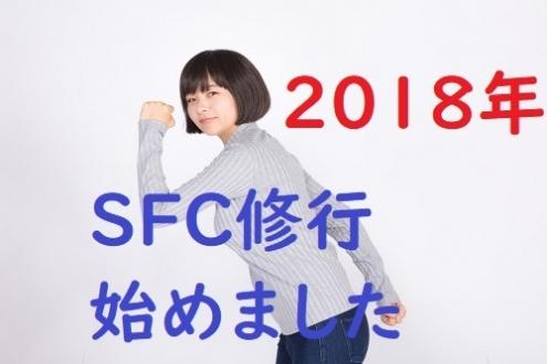 2018年SFC修行始めました