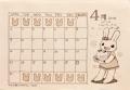 ペーパーのカレンダー1