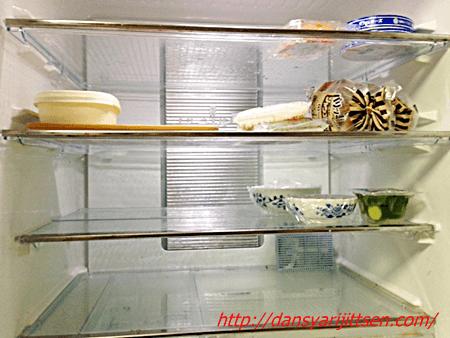 冷蔵室の断捨離: