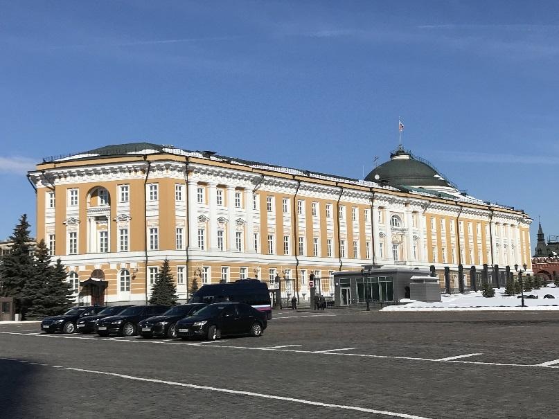 201803 御神事 モスクワ 大統領府