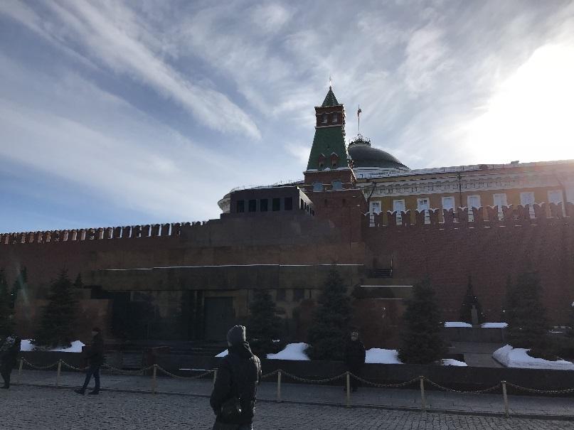 201803 御神事 モスクワ 赤の広場 レーニン廟