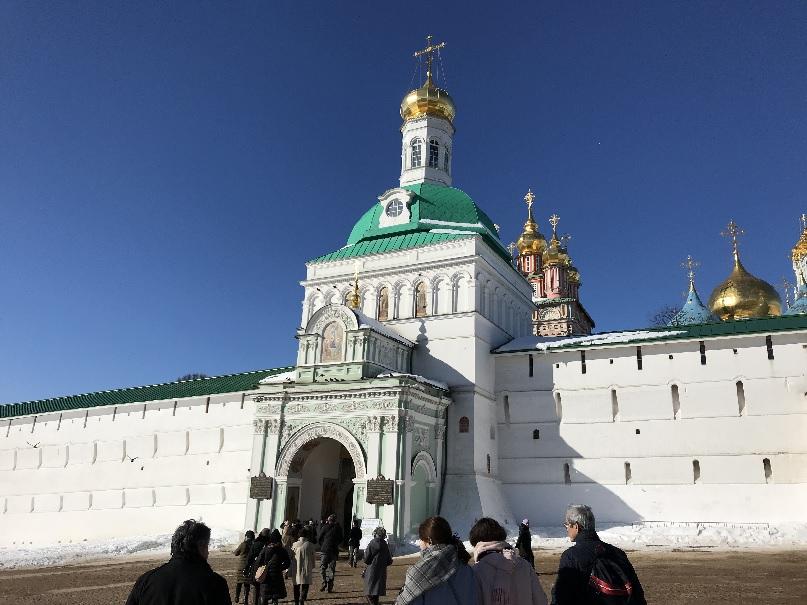 201803 御神事 ロシア セルギエフポサード 1