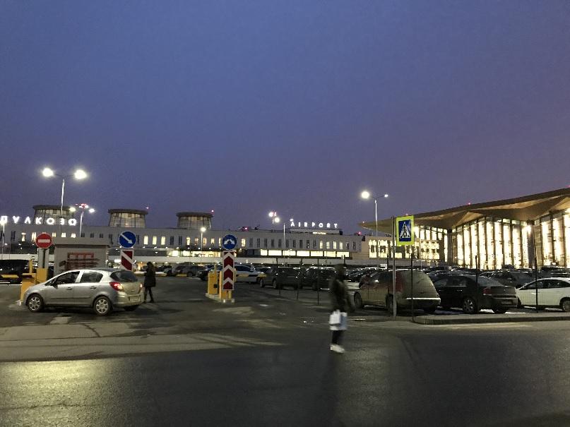 201803 御神事 サンクトペテルブルグ 空港