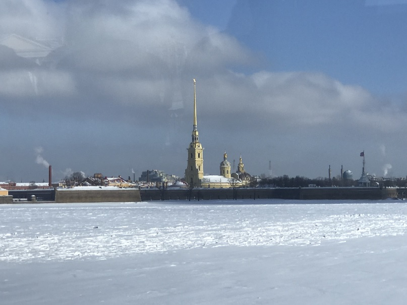 201803 御神事 ロシア ペトロパヴロフスク要塞