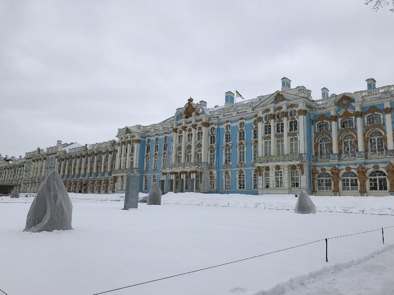 201803 御神事 ロシア エカテリーナ宮殿