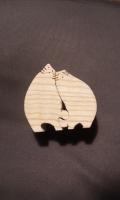 Yさん作 栓の木の猫夫婦