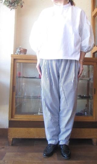 gauze パフTシャツホワイト