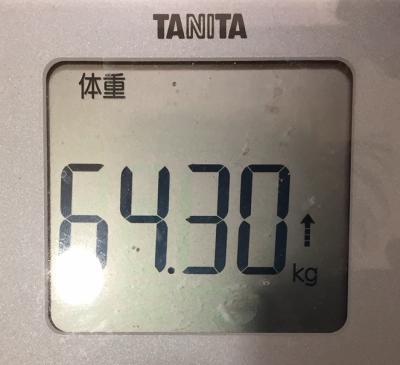 180327今朝の体重