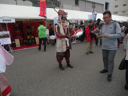 26 和歌山・九度山の真田幸村もPR・・・。