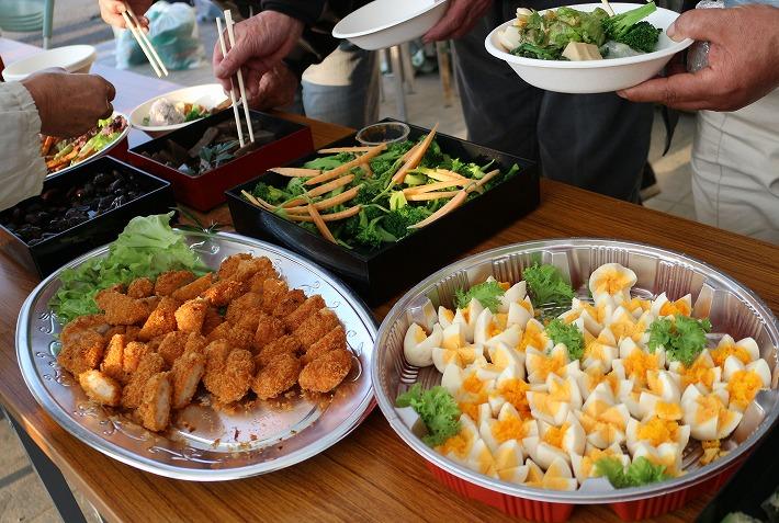 宗吉史跡祭りの後 会食 30 3 25
