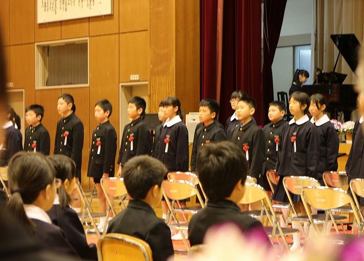 空 卒業式 30 3 16