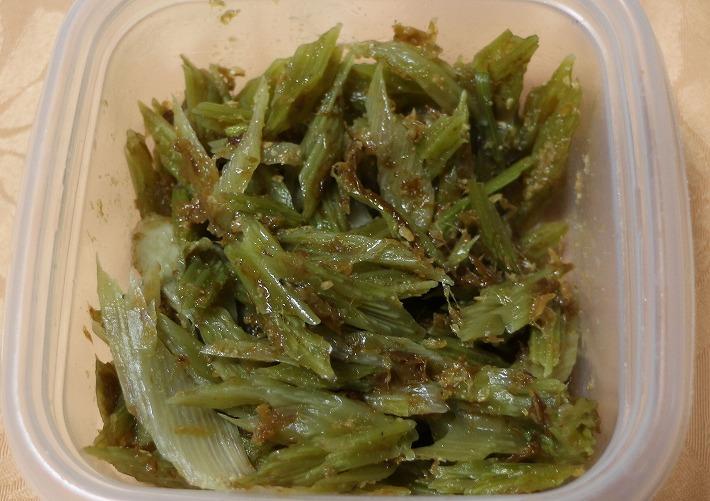 葉ごぼうの佃煮