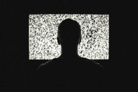 テレビを楽しむ人