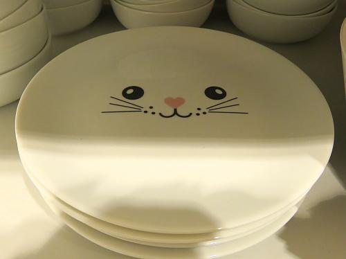フィンランド H&M ホーム 猫 お皿