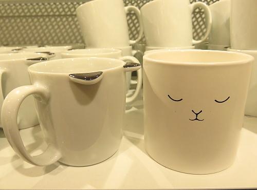 フィンランド H&M ホーム 猫 マグカップ