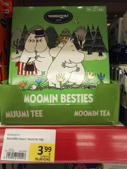 フィンランド ムーミン 紅茶パック詰め合わせ
