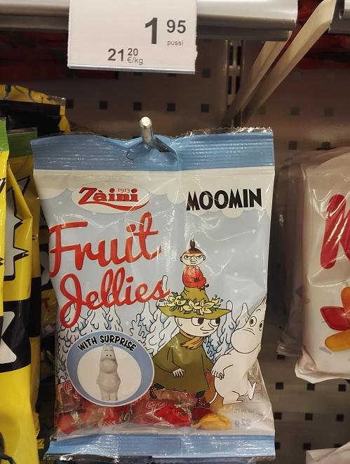 フィンランド ムーミン ジェリー