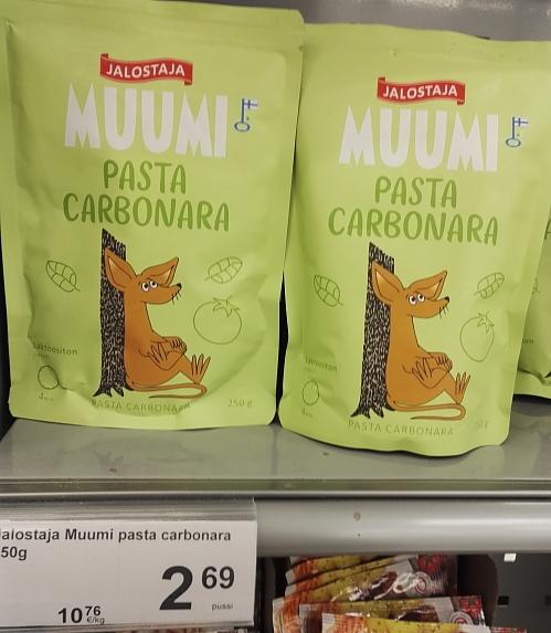 フィンランド ムーミン パスタ Muumi Pasta