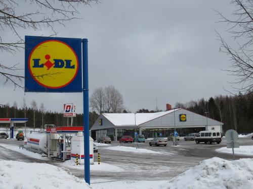 フィンランド ドイツスーパー Lidl