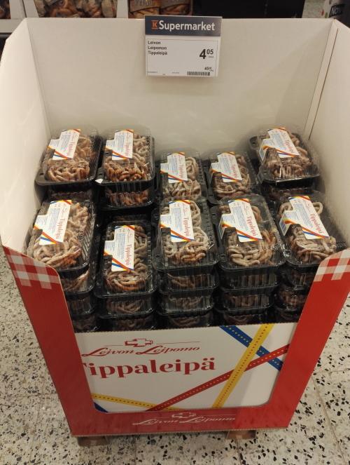 フィンランド Vappu メーデー お菓子