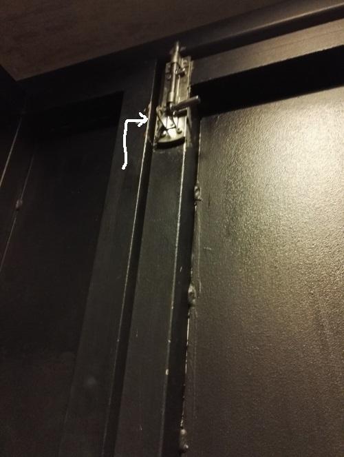 フィンランド ヘルシンキ Nosturi トイレのドア 鍵