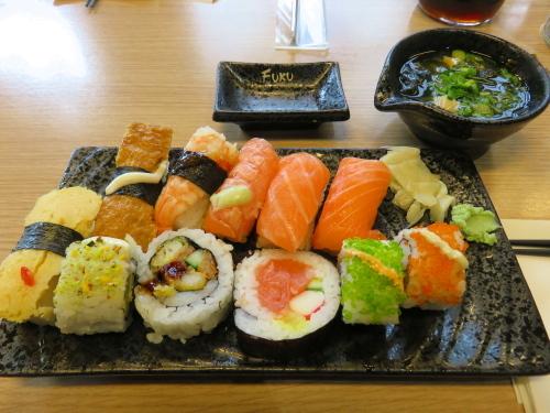 フィンランド Fuku 寿司