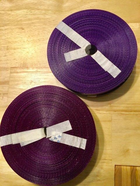 ベトナム製PPバンド 赤紫