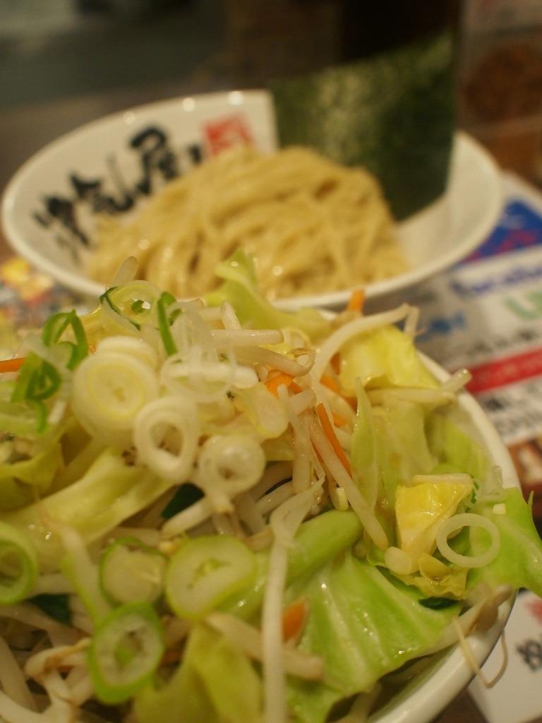 野菜つけ麵
