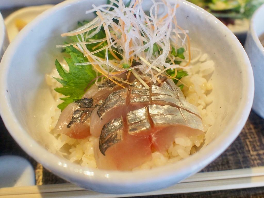華鯵のお刺身丼