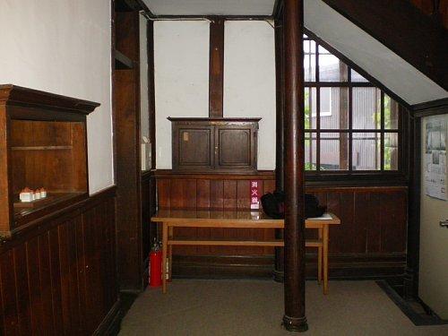 旧石井県令邸・1F階段ホール