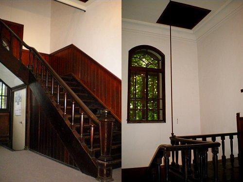旧石井県令邸・2F階段ホール