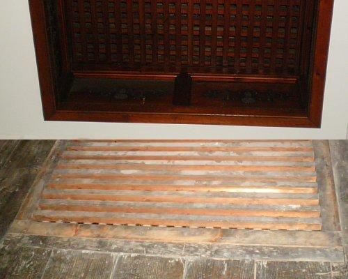 旧石井県令邸・階段通気口