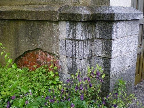 旧石井県令邸・外壁