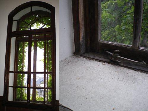 旧石井県令邸・窓