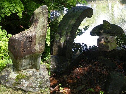 南昌荘・庭石1