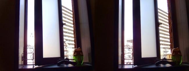 硝子の城 バスルーム③(交差法)