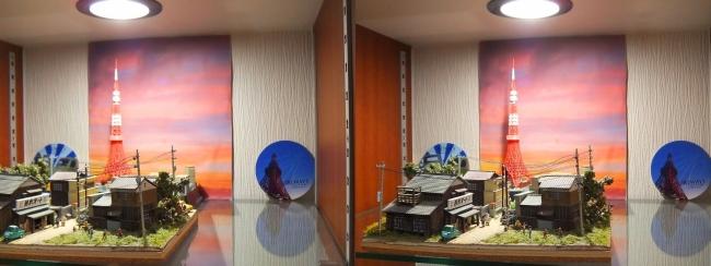 硝子の城 リビングルーム MOTO's MUSEUM⑥(交差法)