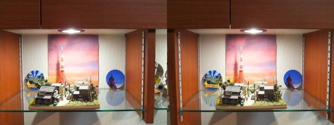 硝子の城 リビングルーム MOTO's MUSEUM⑤(交差法)