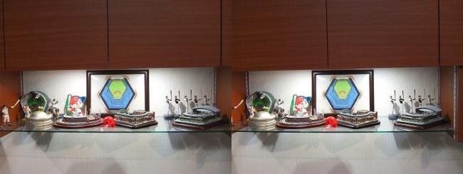 硝子の城 リビングルーム MOTO's MUSEUM④(平行法)