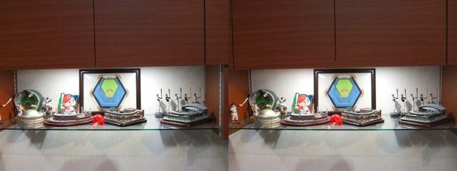 硝子の城 リビングルーム MOTO's MUSEUM④(交差法)
