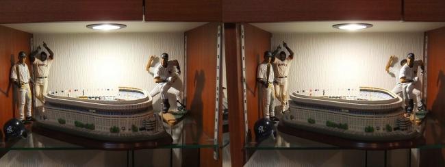 硝子の城 リビングルーム MOTO's MUSEUM③(交差法)