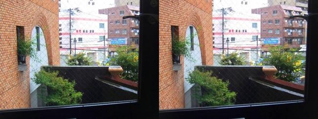 硝子の城 オープンハウス①(交差法)