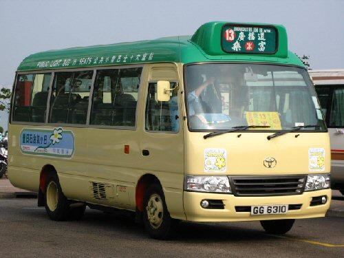 03 500 minibus in Hong Kong